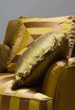 Mooie gele hoofdkussens Royalty-vrije Stock Afbeelding