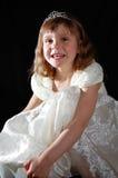 Mooie gelukkige prinses Stock Foto