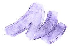 Mooie geweven purpere melallic slagen Stock Foto's