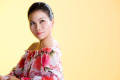 Mooie gezonde Aziatische jonge vrouwen stock afbeeldingen