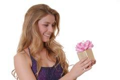 Mooie Gift Vier royalty-vrije stock foto