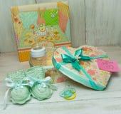 Mooie giften voor baby Stock Fotografie