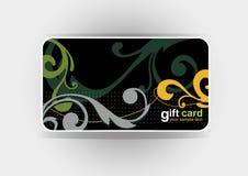 Mooie giftkaart, illustratie Stock Foto's