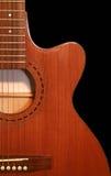 Mooie gitaar Stock Foto