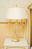 Mooie glasschemerlamp Stock Afbeelding