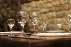Mooie glazen Stock Foto