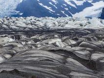 Mooie gletsjer in skaftafell nationaal park skaftafell Stock Foto