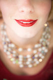 Mooie glimlach! Stock Afbeeldingen