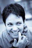 Mooie glimlach Stock Foto's