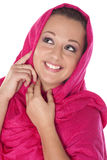 Mooie glimlachende vrouw Royalty-vrije Stock Foto's