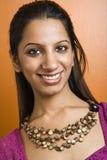Mooie glimlachende vrouw. royalty-vrije stock foto