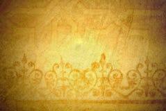Mooie gouden achtergrond Royalty-vrije Stock Afbeelding