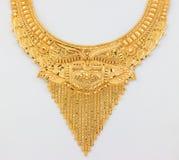 Mooie gouden halsband stock afbeeldingen