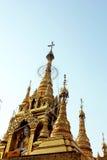 Mooie gouden pagode Royalty-vrije Stock Fotografie