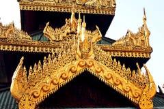 Mooie gouden verfraait Stock Fotografie