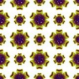 Mooie groene bloem Naadloos BloemenPatroon Vector Stock Foto