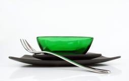 Mooie groene kom Royalty-vrije Stock Afbeeldingen