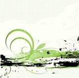 Mooie grungeachtergrond Stock Fotografie