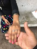Mooie hand Royalty-vrije Stock Foto's
