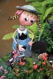 Mooie Hand - gemaakt Doll van het Metaal Stock Foto's