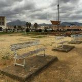 Mooie haven in Palermo stock foto