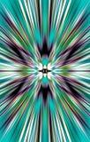 Mooie heldere achtergrond De stralen divergeren van het midden aan de randen vector illustratie