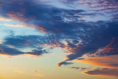 Mooie hemel Stock Afbeeldingen