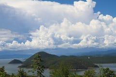 Mooie hemel en berg Royalty-vrije Stock Fotografie