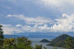 Mooie hemel en berg Royalty-vrije Stock Foto