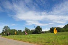 Mooie hemel en berg Royalty-vrije Stock Foto's