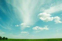 Mooie hemel en wolken Stock Fotografie