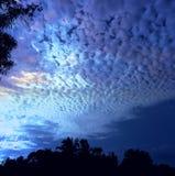 Mooie hemel in Sri Lanka royalty-vrije stock afbeelding