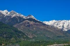 Mooie himachal bergen royalty-vrije stock foto's