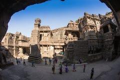 Mooie Hindoese Tempel Stock Foto's