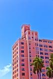 Mooie historische gebouwen in Art deco Stock Foto