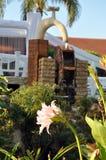 Mooie hoek van een de zomertuin Stock Afbeeldingen