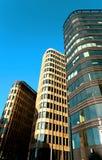 Mooie hoge gebouwen Royalty-vrije Stock Afbeelding
