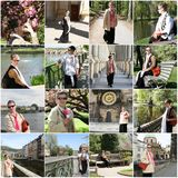 Het hogere Reizen van de Vrouw royalty-vrije stock foto