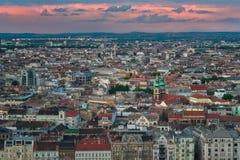 Mooie Hoofdstad van Boedapest in Hongarije royalty-vrije stock fotografie