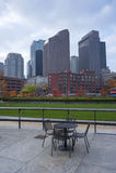 Mooie horizon van Boston Stock Fotografie