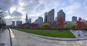 Mooie horizon van Boston Royalty-vrije Stock Foto's