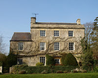 Mooie Huis en Tuin Royalty-vrije Stock Foto