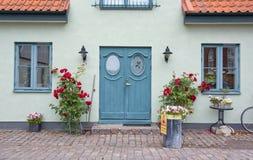 Mooie huisingang Stock Afbeeldingen