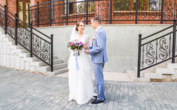 Mooie huwelijksdans royalty-vrije stock foto