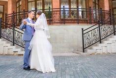 Mooie huwelijksdans royalty-vrije stock afbeelding