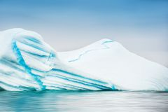Mooie ijsberg in Groenland royalty-vrije stock afbeeldingen
