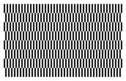Mooie illustratie van een patroon dat wit en zwart is vector illustratie