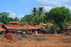 Mooie Indische dorpsscène Stock Foto's