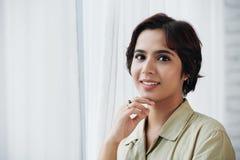 Mooie Indische vrouw royalty-vrije stock foto