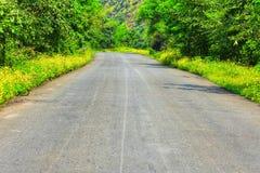 Mooie Indische Weg stock afbeelding
